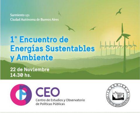 1º Encuentro de Energías Renovables y Ambiente