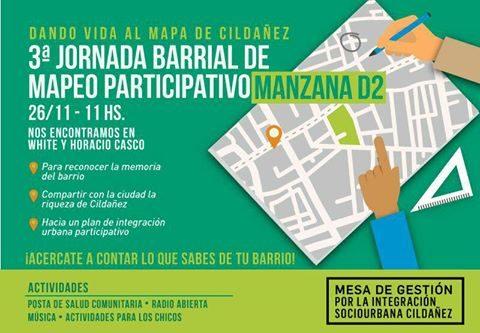 Cuenca del Arroyo Cildañez – Jornada Barrial de Mapeo Participativo