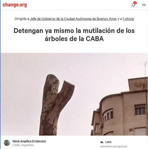 Basta de Mutilar – Presentación de Nota al Gobierno de la CABA