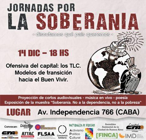 """Jornada """"Ofensiva del Capital"""": los Tratados de Libre Comercio"""