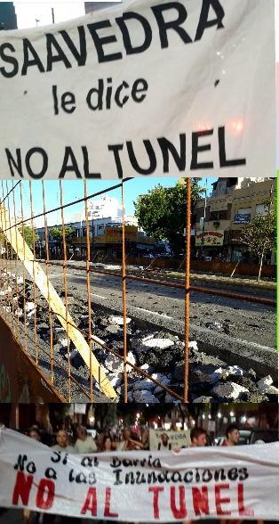 FESTIVAL EN SAAVEDRA – No al Túnel de Balbín – Sí a las obras para no inundarnos más
