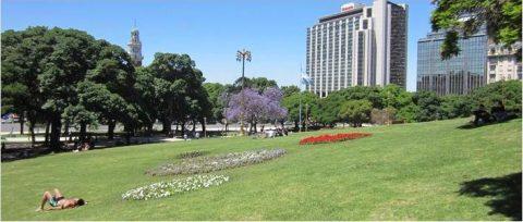 Encuentro de Vecinos contra peatonalización de Plaza San Martín
