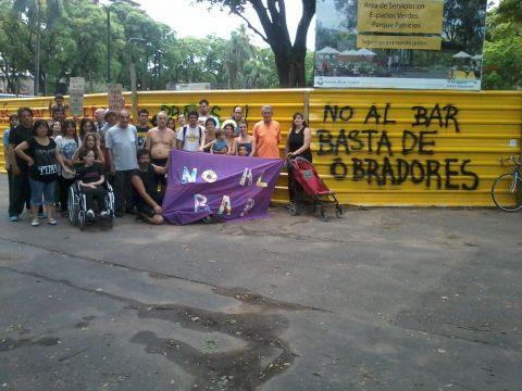 """""""Radio Abierta"""" en Parque Patricios"""