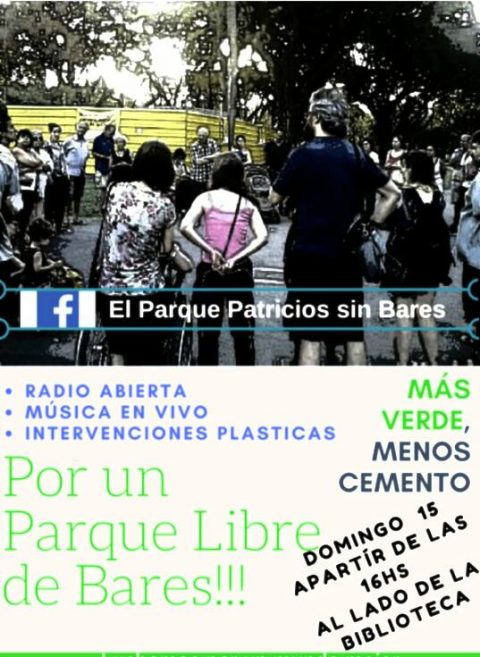 """Reunión en la Comuna 4 para tratar la solicitud vecinal """"Parque Patricios SIN Bares"""""""