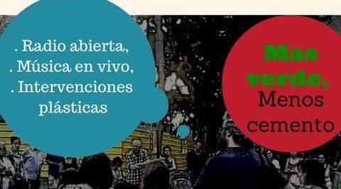 """""""Radio Abierta"""" y otras actividades por PARQUE PATRICIOS SIN BARES"""