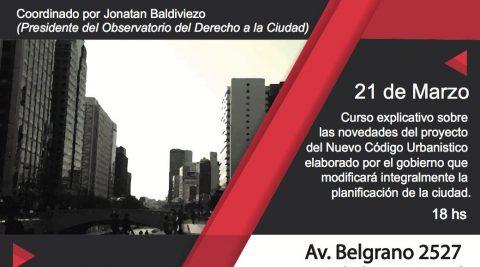 Jornadas sobre el nuevo Código Urbanístico para la Ciudad de Buenos Aires