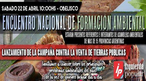 Encuentro Nacional de Formación Ambiental