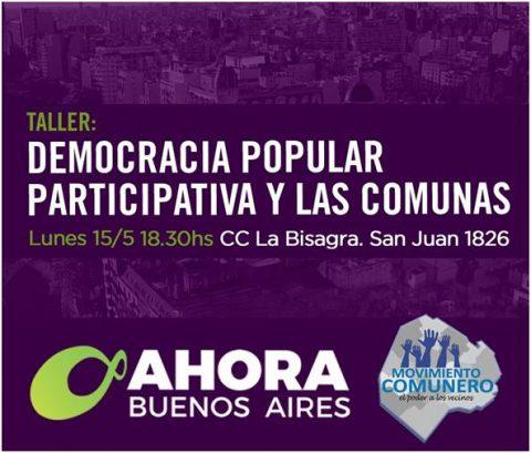 Taller: Democracia Participativa y las Comunas