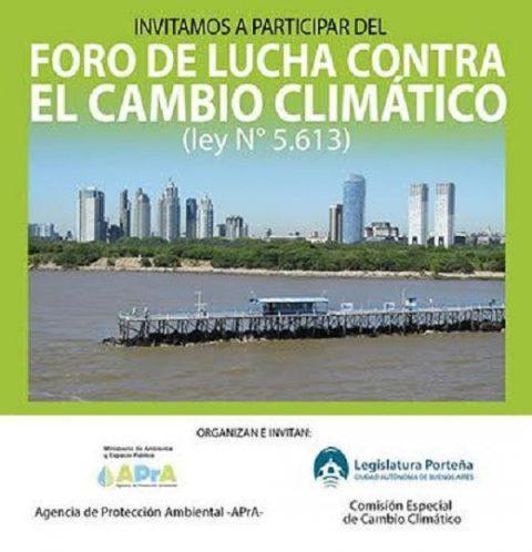 Foro de Lucha contra el Cambio Climático