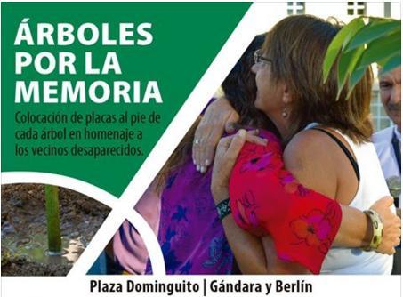 Árboles por la Memoria – Parque Chas