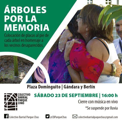 ÁRBOLES POR LA MEMORIA
