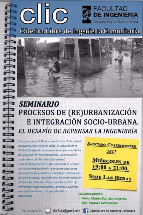 Procesos de (Re)Urbanización e Integración Socio-Urbana de villas y asentamientos informales