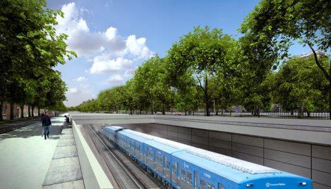 VILLLA DEL PARQUE Y DEVOTO: ELIMINACIÓN DE LOS PASOS A NIVEL. Ventajas y desventajas de cada una de las alternativas: Tren en trinchera, Viaducto ferroviario, PbN. Documento emitido por el CCC11
