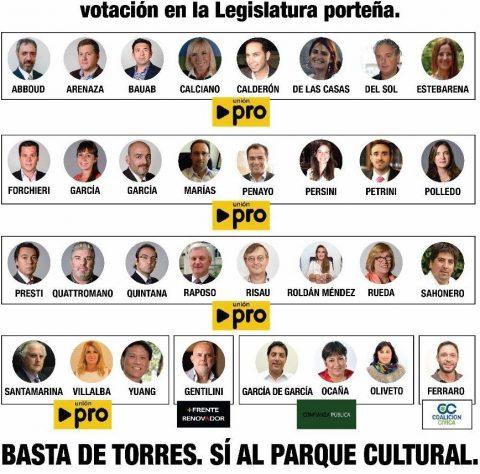 ALERTA CIUDADANOS: Los Legisladores quieren rematar la Ciudad