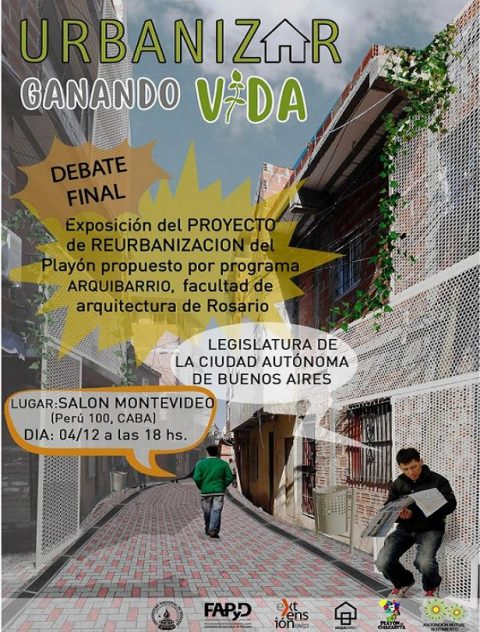 Un proyecto alternativo al del Instituto de la Vivienda de la CABA para el barrio Playón de Chacarita