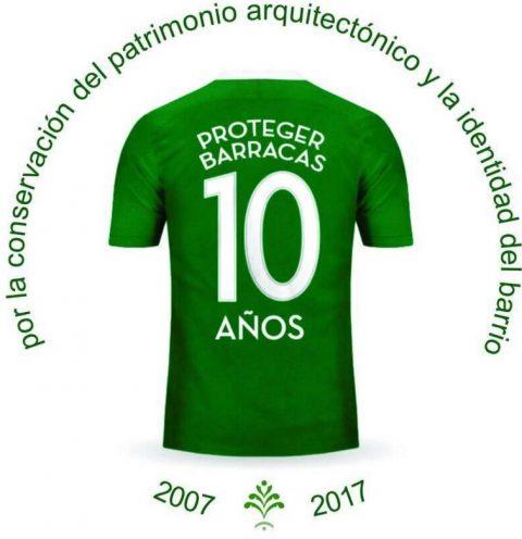 10 años de Proteger Barracas
