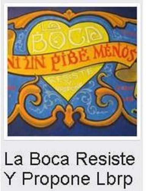 Intervención por la Visibilización de la ilegal apropiación de los Campitos : Festival en la puerta de Boca Juniors