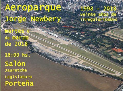 1998-2018 Veinte años de irregularidades / Aeroparque Jorge Newbery