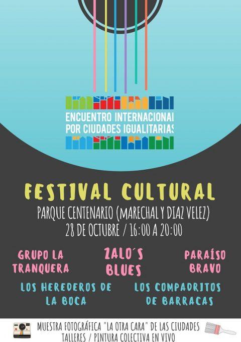 Encuentro Internacional por Ciudades Igualitarias – Festival Cultural
