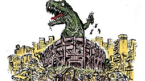 No al Megaestadio del Diario La Nación