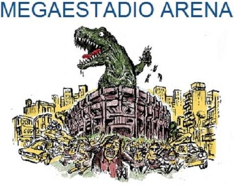 No al Megaestadio Arena en Villa Crespo