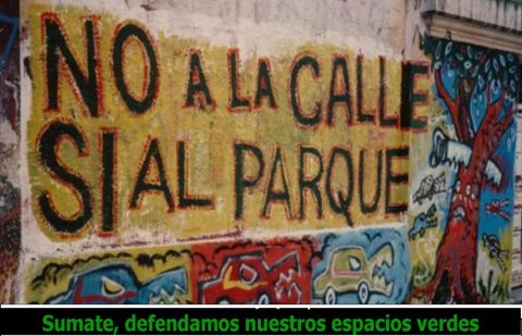 Sí al Parque Rivadavia, no a la Calle Beauchef – Asamblea Vecinal