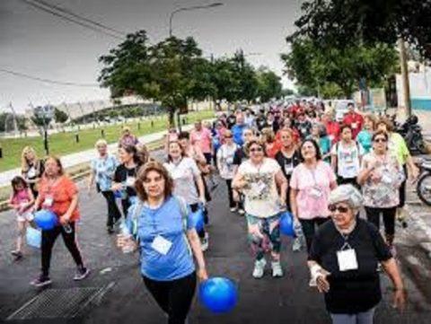 Marcha bajo Viaducto San Martín – Vecinos Comunas 14 y 15 –  Salida desde Chacarita
