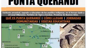 La Comunidad Indígena Punta Querandí invita a la ceremonia de bendición de los frutos maduros
