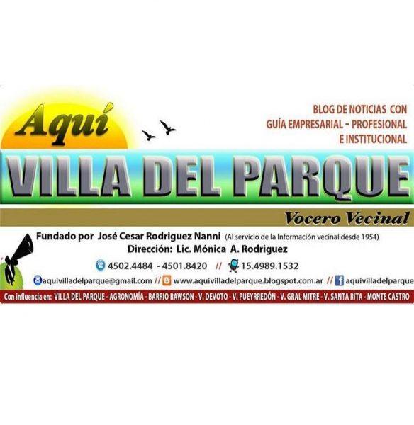 Aquí Villa del Parque - Vocero vecinal